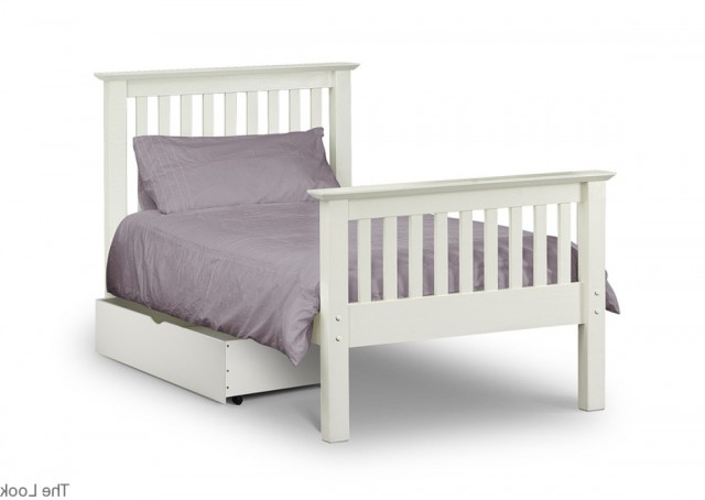 Single Bed Headboards White