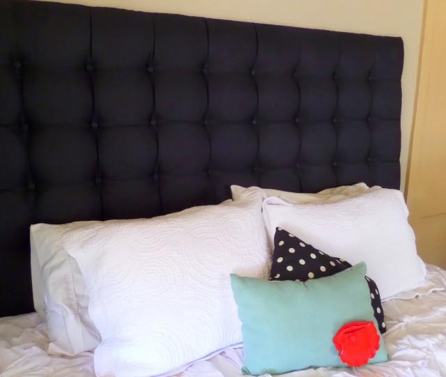 Tall Upholstered King Headboard