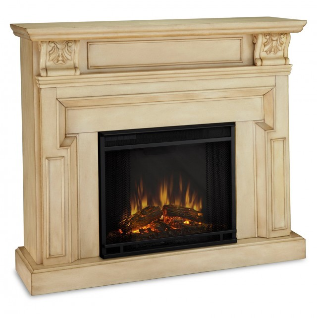 Vintage Electric Fireplace Logs