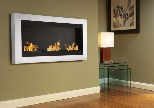 Wall Mounted Ethanol Fireplace Melbourne