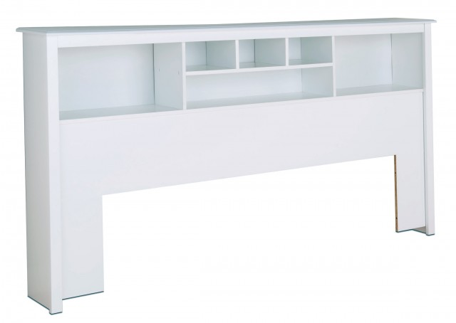 White King Size Headboard With Storage