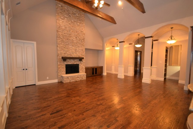 White Stone Fireplace Pictures