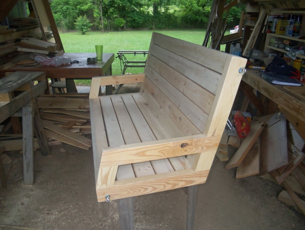 2x4 Porch Swing Plans