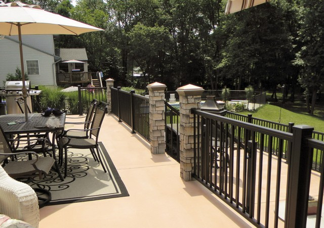 Aluminum Porch Railing Prices