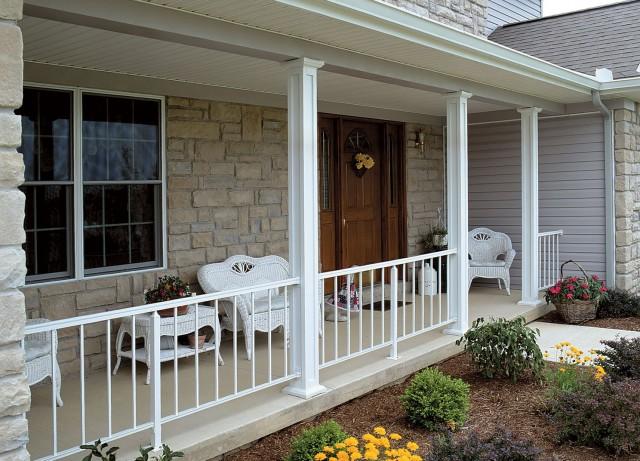 Aluminum Porch Railings And Posts
