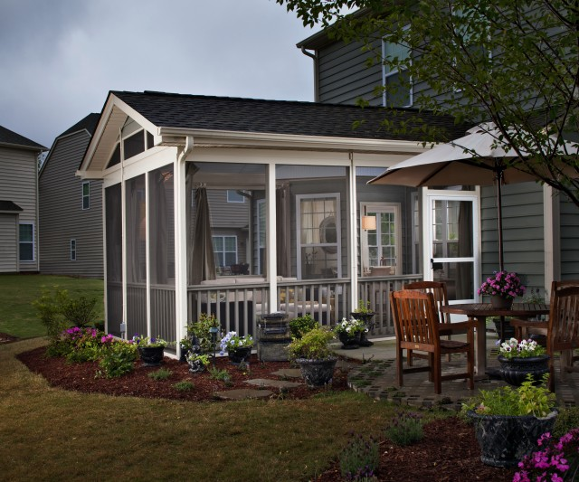 Back Screened In Porch Ideas