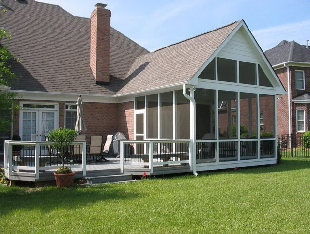 Backyard Screened Porch Ideas
