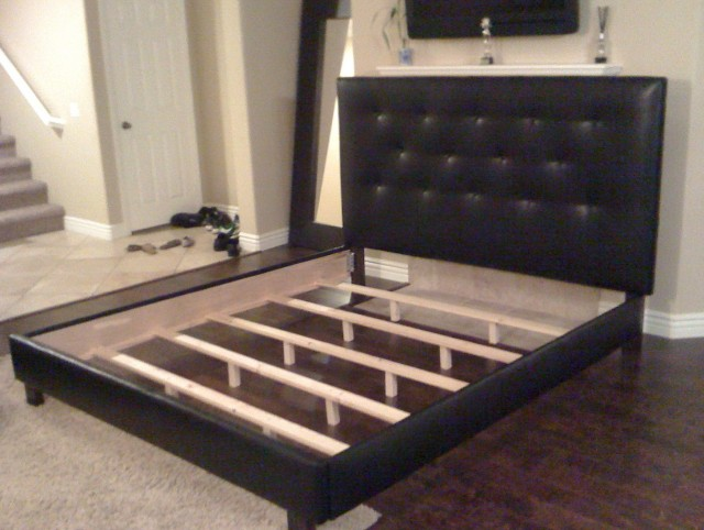 Black Full Headboard And Frame