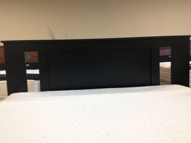 Black Full Size Headboard