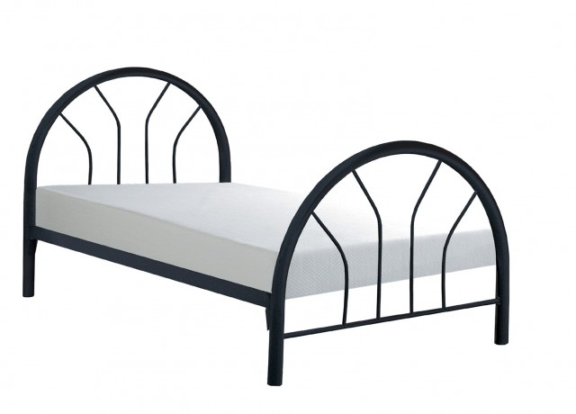 Black Metal Headboard Twin