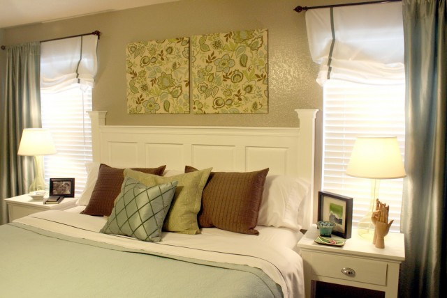 Build A Headboard Out Of A Door