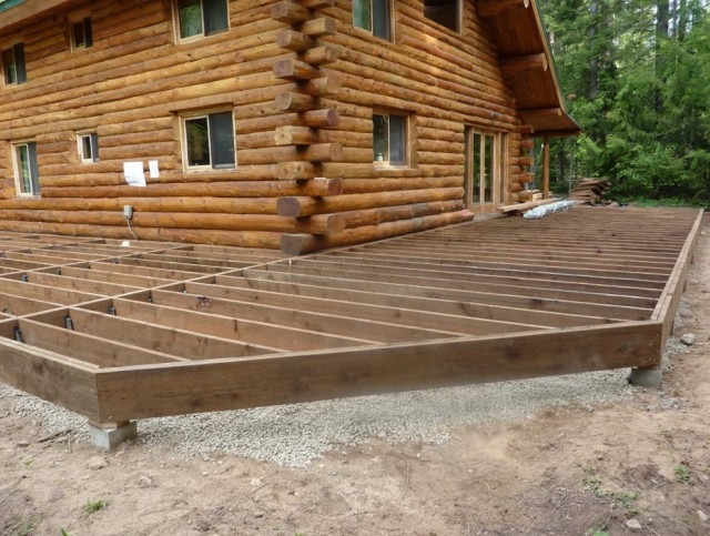 Building A Porch Deck
