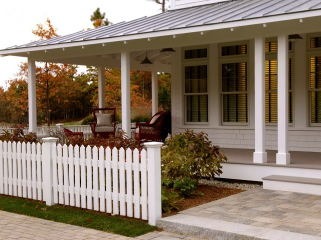 Covered Front Porch Plans