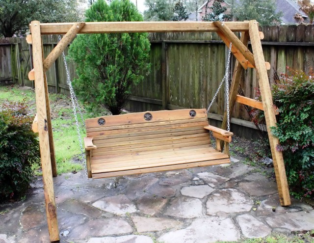 Diy Porch Swing Frame
