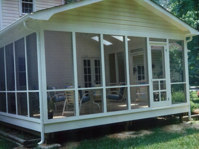 Diy Screen Porch Windows