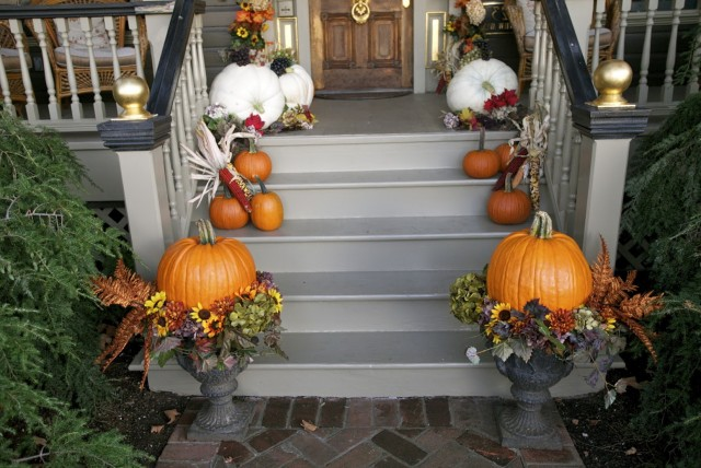Fall Porch Decorating Ideas 2014