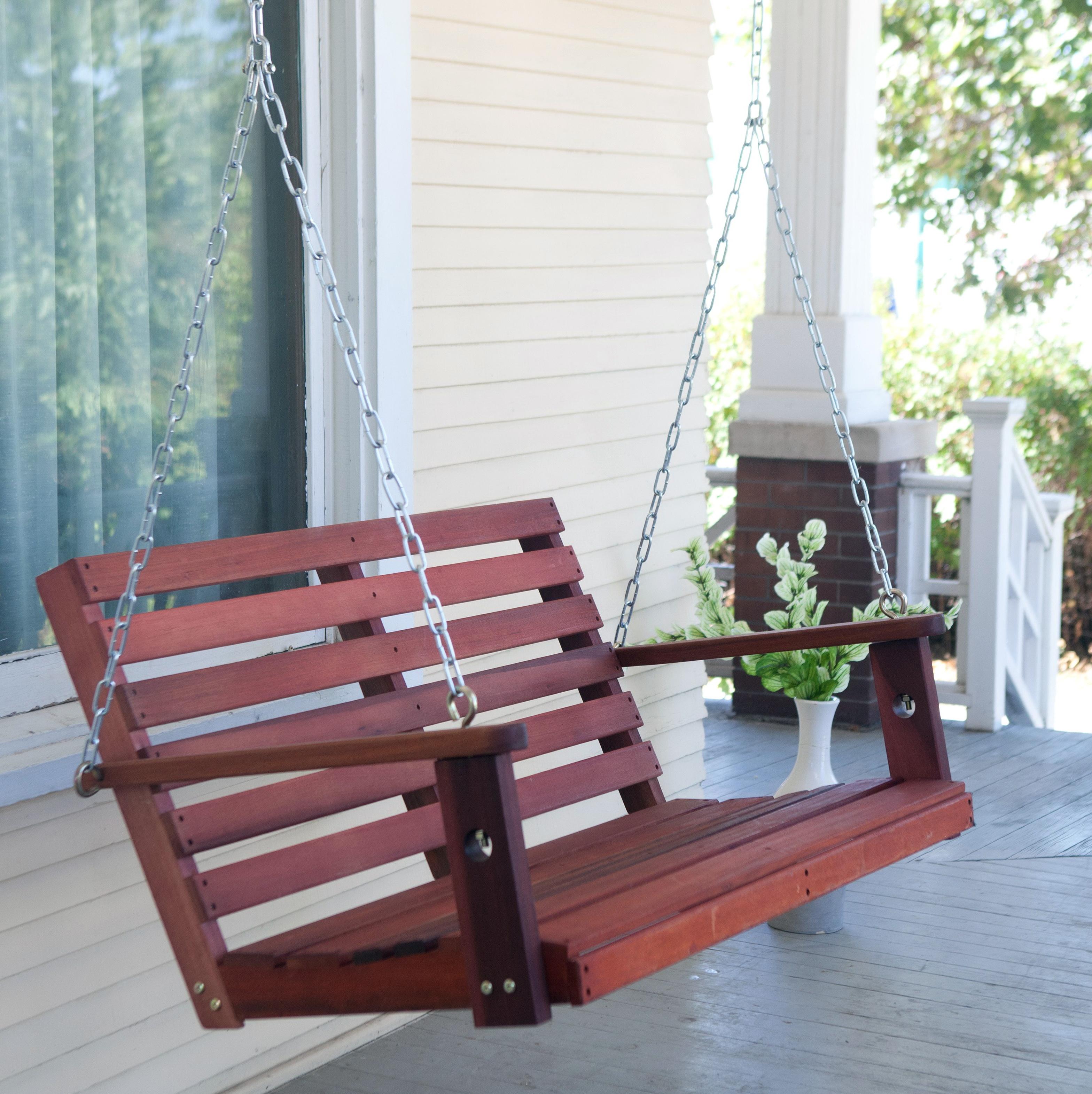 Free Printable Porch Swing Plans