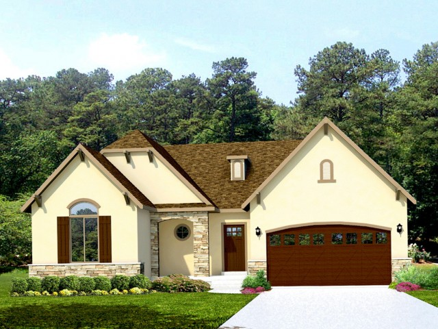 French Country House Plans With Front Porch