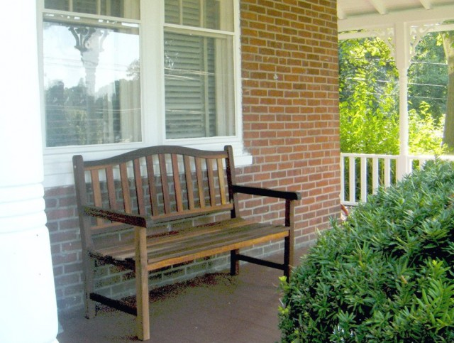 Front Porch Benches Outdoor