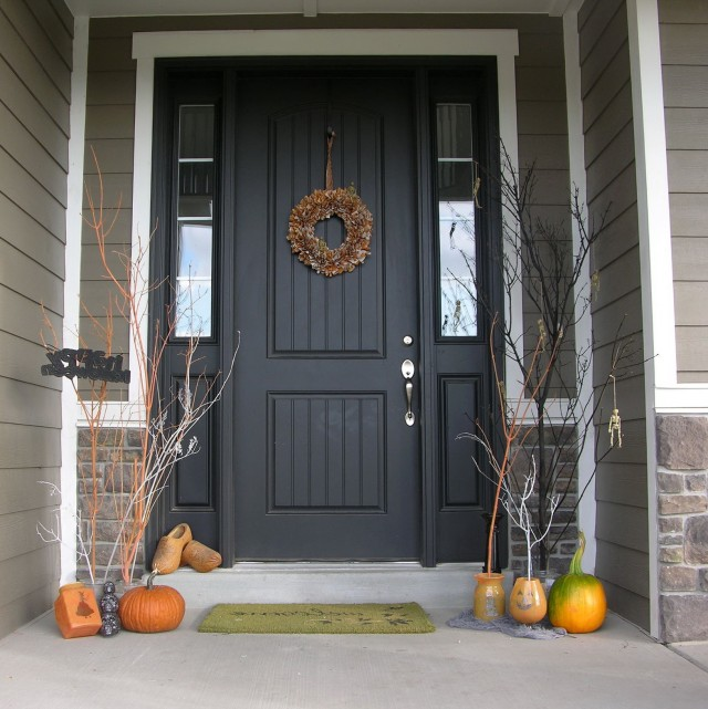 Front Porch Decorating Ideas For Halloween
