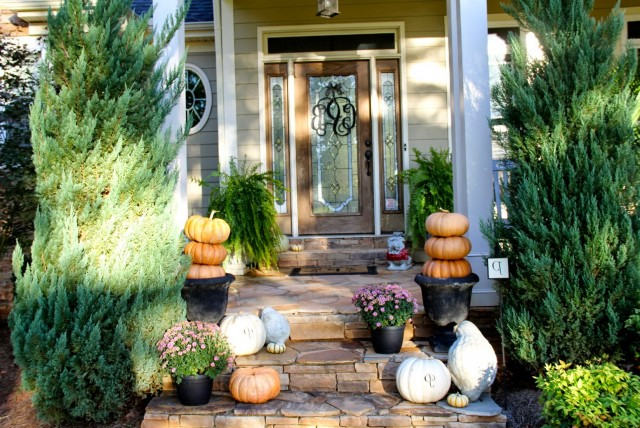 Front Porch Ideas For Fall