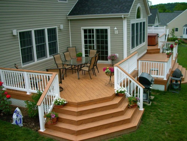 Front Porch Railing Designs Ideas