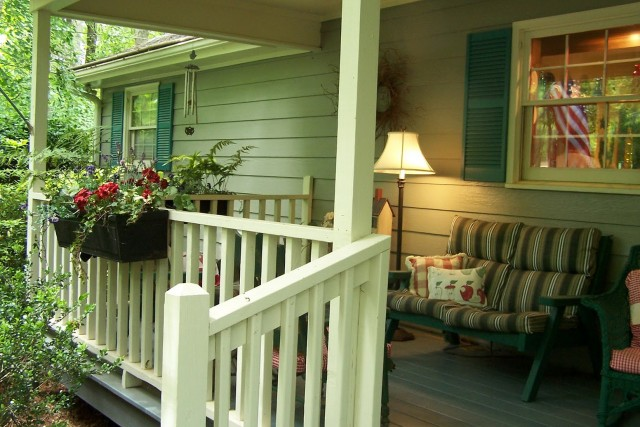 Front Porch Railing Styles