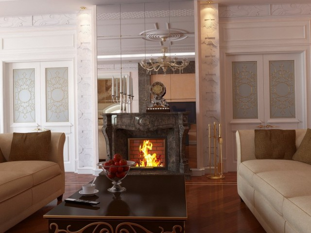 Gas Fireplace Mantel Clearance Code