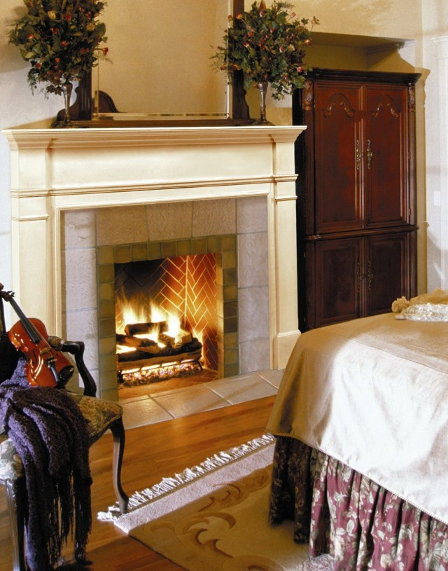 Gas Fireplace Mantel Design Ideas