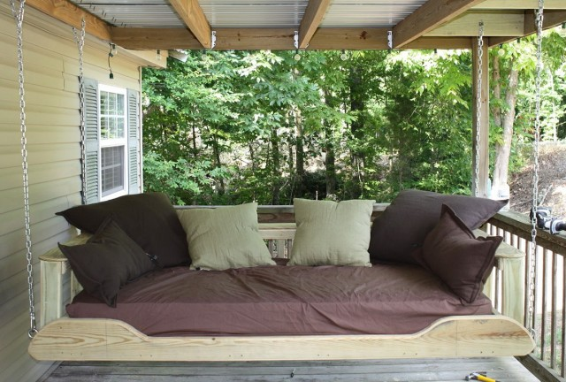 Hanging Porch Bed Plans
