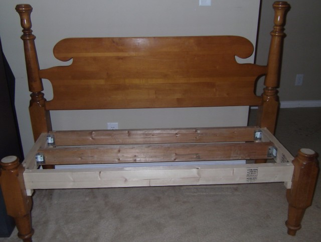 Headboard And Footboard Into Bench
