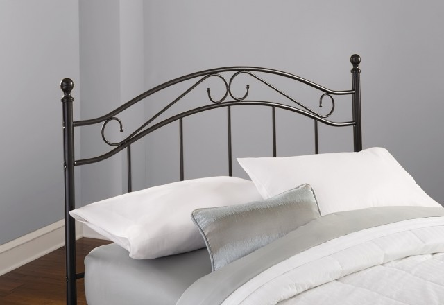 Mainstays Full Queen Metal Headboard Black