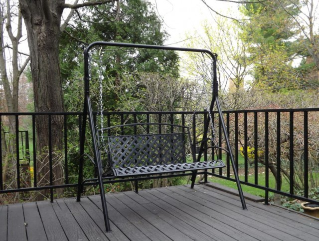 Metal Porch Swing Frame