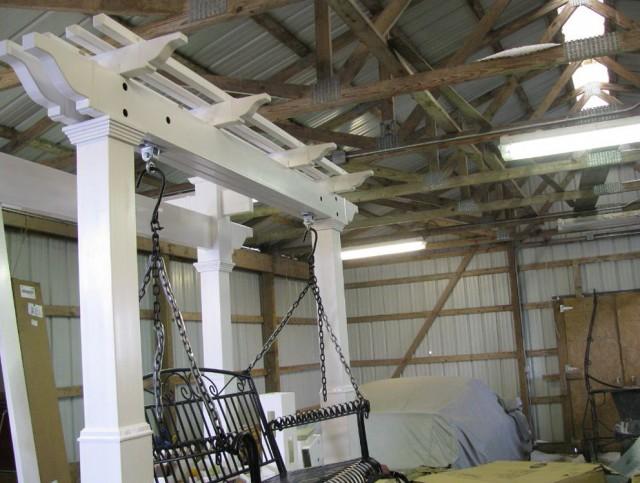 Metal Porch Swing Plans Free