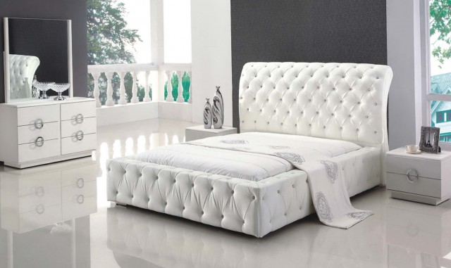 Off White Tufted Headboard