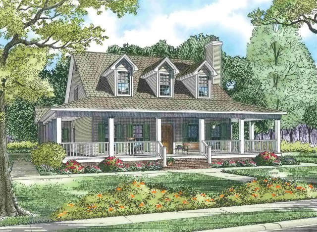 Old Farm Houses With Wrap Around Porches