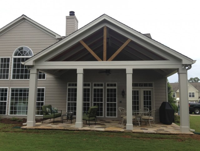 Open Porch Roof Designs