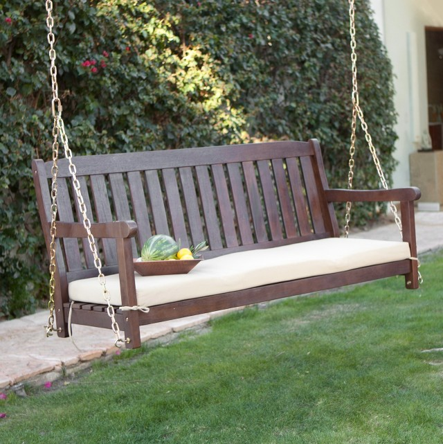 Outdoor Porch Swing Cushions