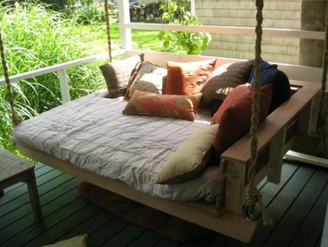 Porch Bed Swing Diy