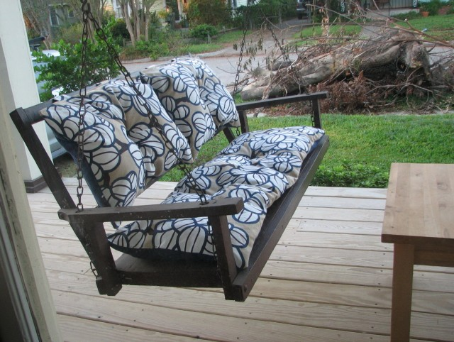 Porch Swing Cushion Covers