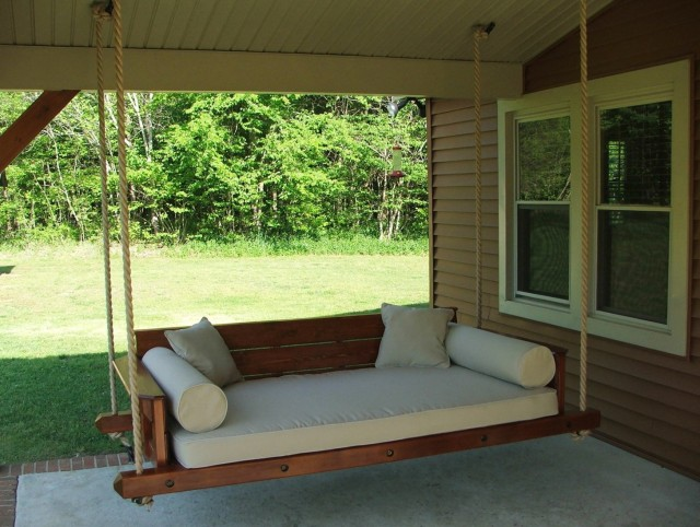 Porch Swing Frame Ideas