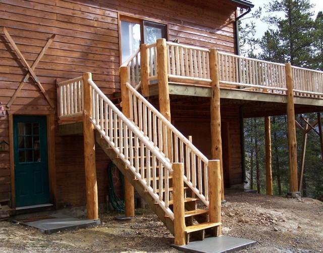 Rustic Porch Railing Ideas