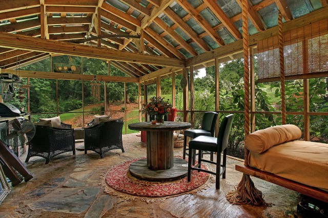 Rustic Screened In Porch Ideas
