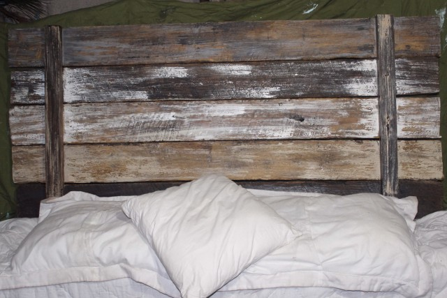 Rustic Wood And Metal Headboards