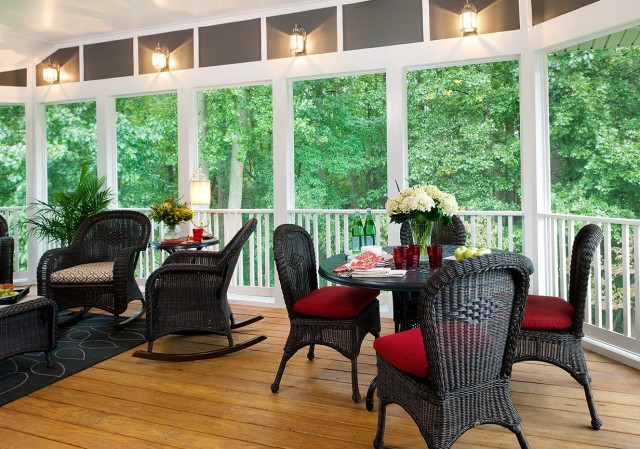 Screen Porch Furniture Ideas
