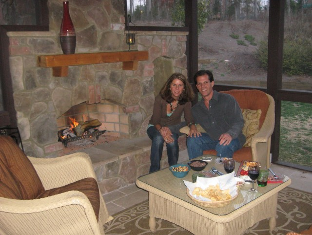 Screened In Porch Ideas With Fireplaces