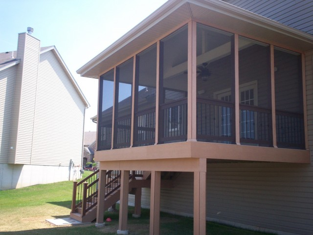 Screened In Porches And Decks