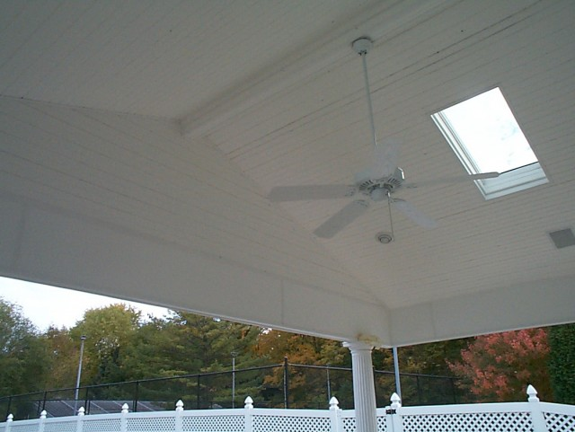 Screened In Porches With Open Ceilings