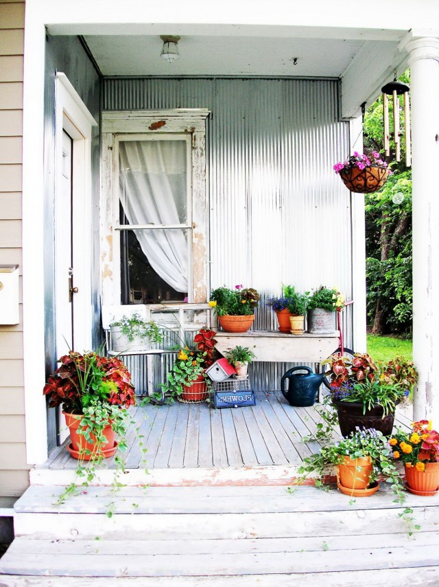 Simple Back Porch Ideas