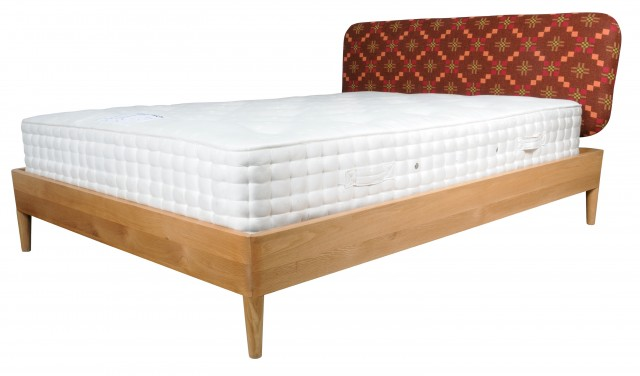 Simple Platform Bed With Headboard